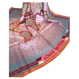 Louis Vuitton-FOULARD LOUIS VUITTON-Multicolore