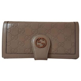 Gucci-portefeuilles-Taupe