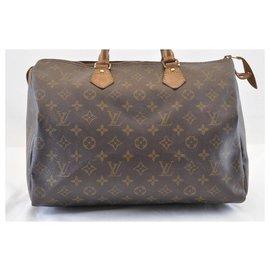 Louis Vuitton-Louis Vuitton Speedy 35-Marron