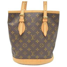 Louis Vuitton-Seau Louis Vuitton-Marron
