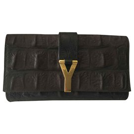 Yves Saint Laurent-Pochette-Marron