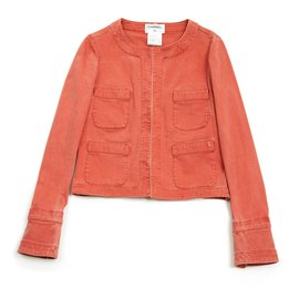 Chanel-APRICOT DENIM FR34/36-Corail
