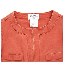 Chanel-APRICOT DENIM FR34/36-Coral