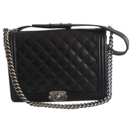 Chanel-Boy big model-Black
