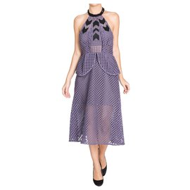 Self portrait-Dresses-Purple