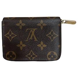Louis Vuitton-zippy wallet-Marron