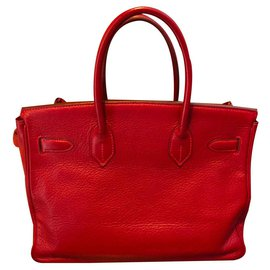Hermès-Birkin-Rouge