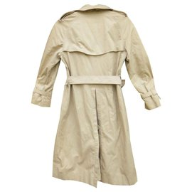 Burberry-vintage Burberry trench 34/36-Beige