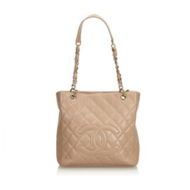 Chanel-Sac Shopping Petite Caviar Rose Chanel-Rose