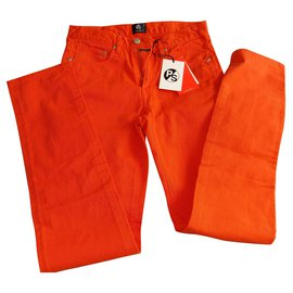 Paul Smith-Pants-Orange