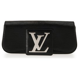 Louis Vuitton-Pochette Epi Sobe Black Electric de Louis Vuitton-Noir