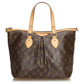 c95f74f69b9 Louis Vuitton-Toile Monogram Marron Louis Vuitton Palermo PM-Marron