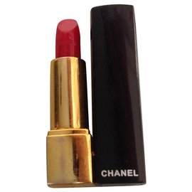 Chanel-CHANEL lipstick pendant with adjustable cord-Black