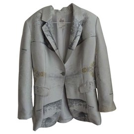 Hermès-Dressed jacket-Grey