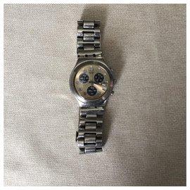 Autre Marque-Quartz Watches SWATCH-Grey