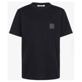 Givenchy-T-SHIRT SLIM AVEC PATCH GIVENCHY 4G neuf avec etiquettes taille xl-Noir