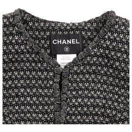 Chanel-BLACK GREY FR40-Noir,Argenté,Gris anthracite