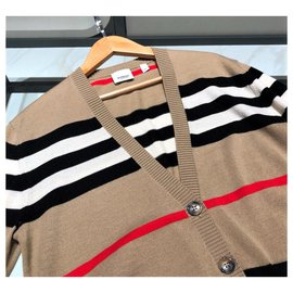 Burberry-Burberry Wool Knit Cardigan coat sweater XS-Other