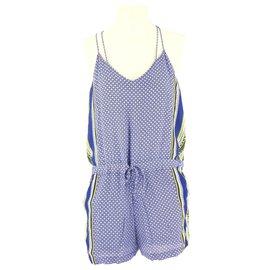Comptoir Des Cotonniers-Combinaison-Bleu