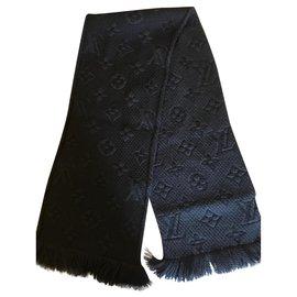 Louis Vuitton-Schals-Grau