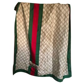 Gucci-Scarves-Green