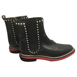 Christian Louboutin-Bottines-Noir