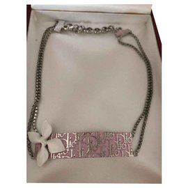 Christian Dior-Necklaces-Silvery,Pink