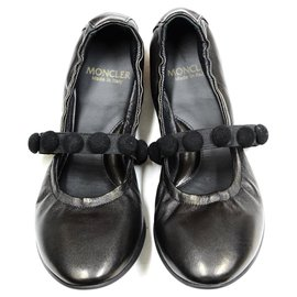 Moncler-Ballerina shoes new-Black