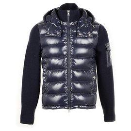 Moncler-Manteaux pour hommes-Bleu Marine