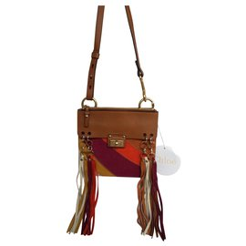 Chloé-Chloé JANE bag-Brown,Red,Multiple colors,Mustard,Light brown,Caramel,Lavender