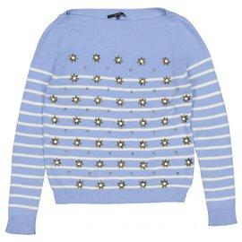 Gucci-Tricots-Bleu
