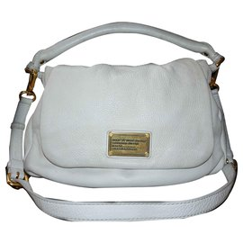 227821f5b604 Marc by Marc Jacobs-Marc by Marc Jacobs Classic Q Lil Ukita bag-White ...