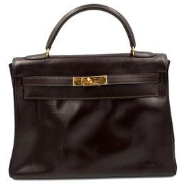 Hermès-Kelly 32-Brown