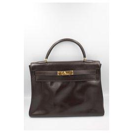 Hermès-Kelly 32-Marron