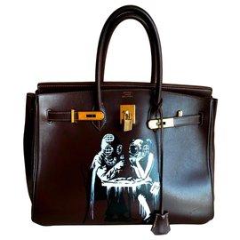 Hermès-Birkin-Ebony