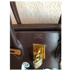 Hermès-Birkin-Ebène