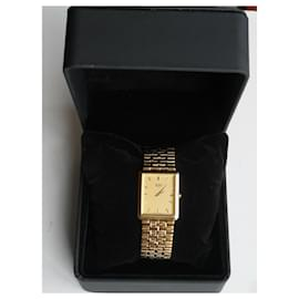 Autre Marque-SEIKO gold-plated stainless steel watch + bracelet-Yellow