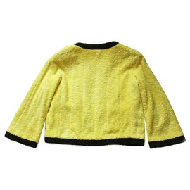 Chanel-Collectors Rare Vintage Chanel Jacket-Yellow