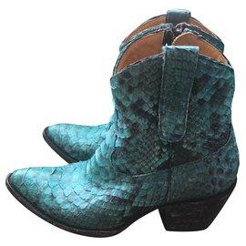 b68337f7c45b Second hand Mexicana Ankle boots - Joli Closet