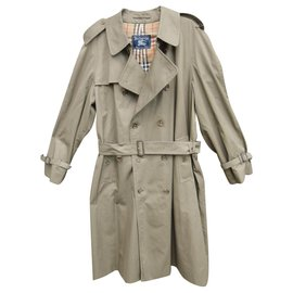 Burberry-vintage Burberry trench 56 State like new-Khaki