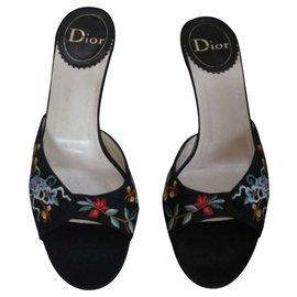 Dior-Sandales-Multicolore