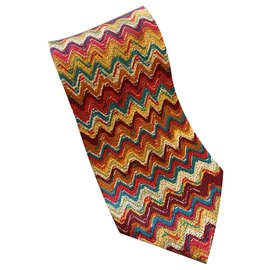 Missoni-Cravates-Multicolore