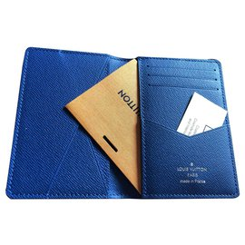 Louis Vuitton-Louis vuitton pocket organsier-Blue