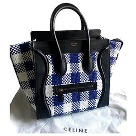 Céline-CELINE MINI LUGGAGE BAG-Multiple colors