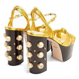 Gucci-ALLI GOLDEN PLATEAUX-Doré