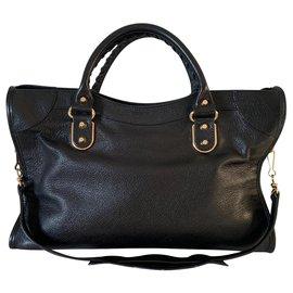 Balenciaga-Balenciaga City Bag-Black