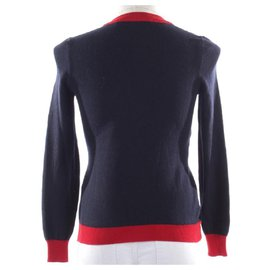 Gucci-Tricots-Rouge,Bleu Marine