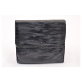 Louis Vuitton-Porte monnaie louis Vuitton-Noir