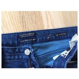 Autre Marque-Pantalons-Bleu