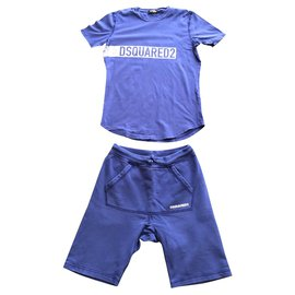 Dsquared2-Outfits-Blau